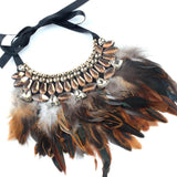 Collier Plume | Le-Geronimo-Store