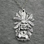 collier guerrier indien