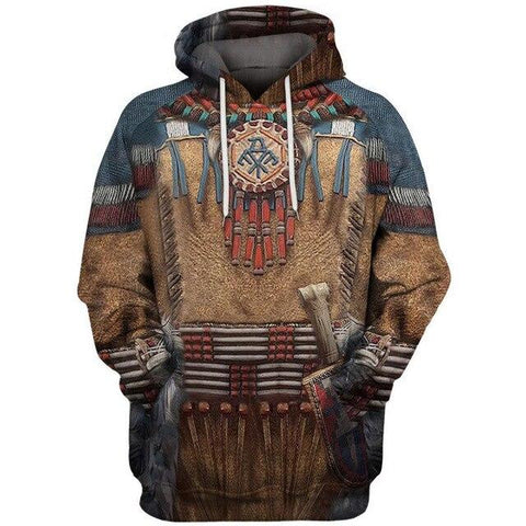 Sweat Homme Indien | Le-Geronimo-Store
