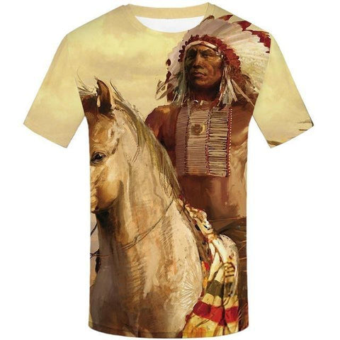 T-Shirt Chef de la Tribu | Le-Geronimo-Store