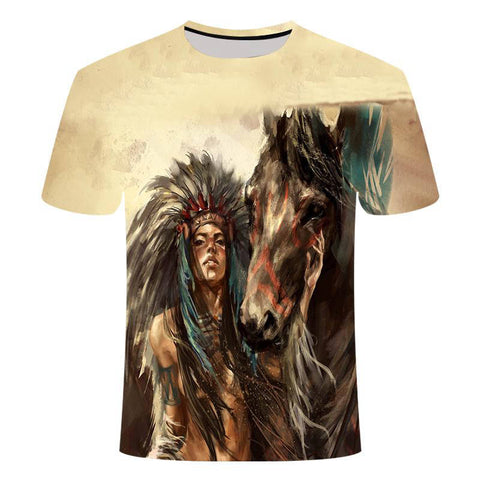 T-Shirt Cheval | Le-Geronimo-Store