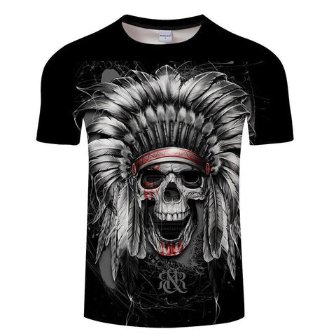 T-Shirt Indien Homme | Le-Geronimo-Store