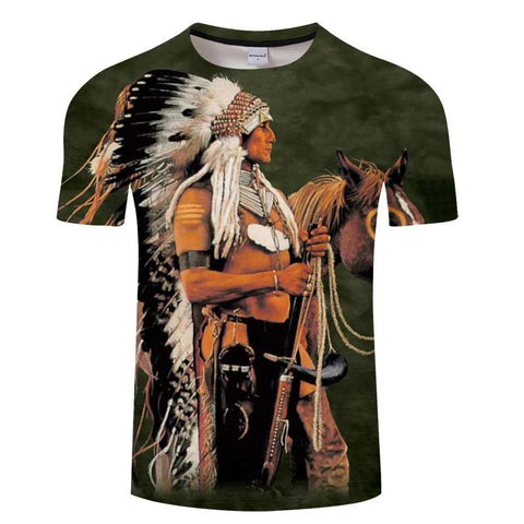 T-Shirt Native American | Le-Geronimo-Store