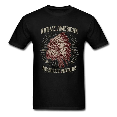 T-Shirt Respect | Le-Geronimo-Store