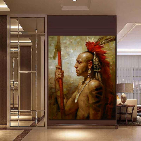 Tableau Style Indien | Le-Geronimo-Store