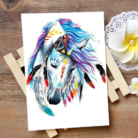 Tatouage Cheval Indien | Le-Geronimo-Store