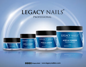 "Acrylic Powder ""White"" Legacy Nails, 2 oz"