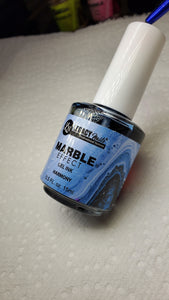 Gel ink Marble Blue