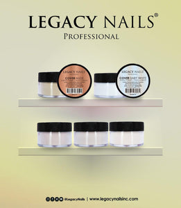 "Cover ""Baby White"" Legacy Nails, 4 oz"