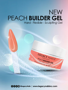 "Builder Gel ""Peach"" Legacy 1 oz"