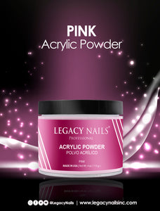 "Acrylic Powder ""Pink"" Legacy Nails, 4 oz"
