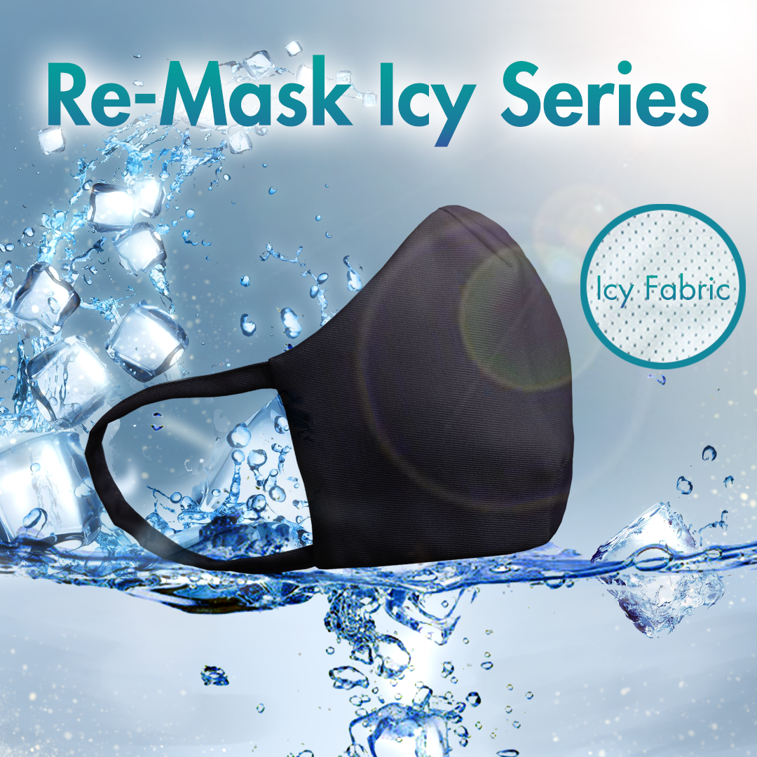 Re-Mask VFE 99.9 Technical Mask | ICY Black