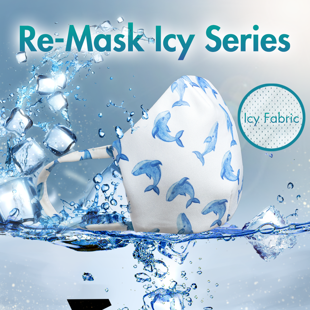 Re-Mask VFE 99.9 Technical Mask | ICY Dolphin