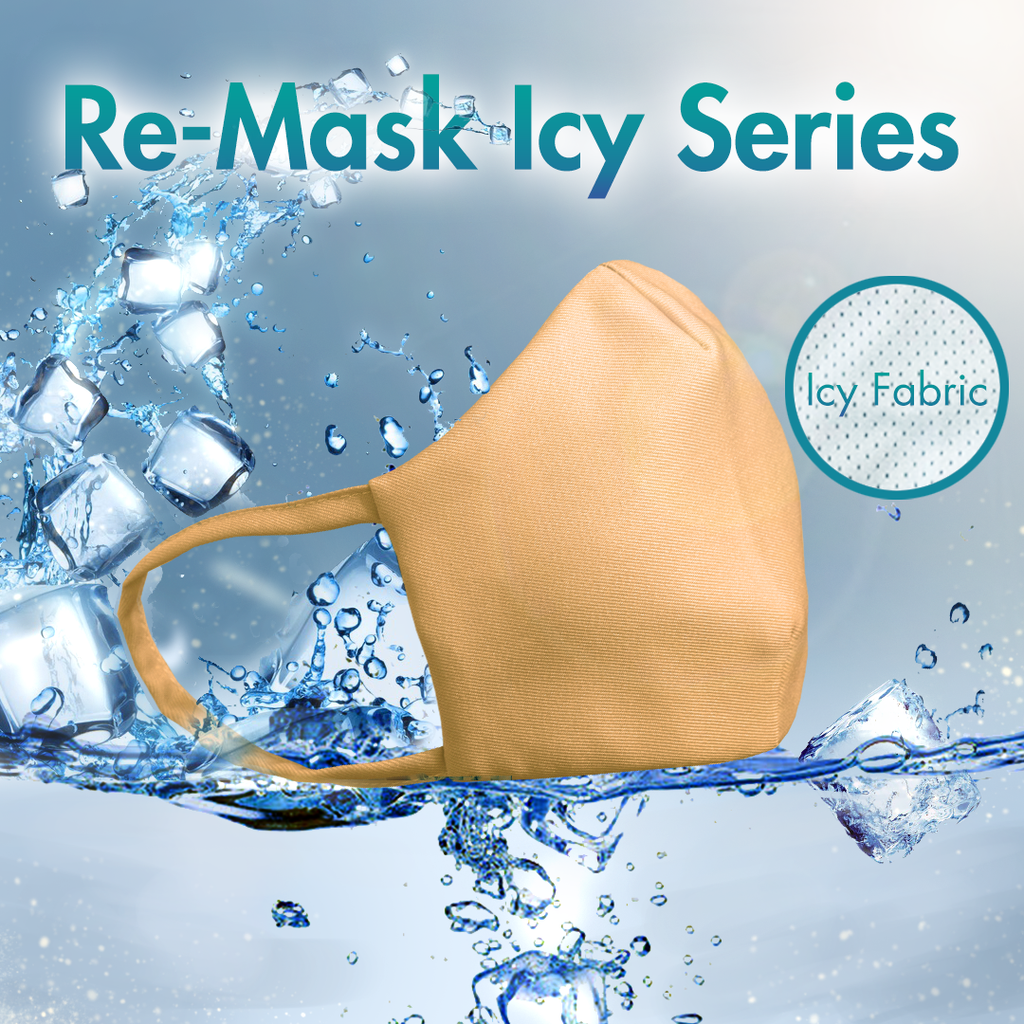 Re-Mask VFE 99.9 Technical Mask | ICY Orange