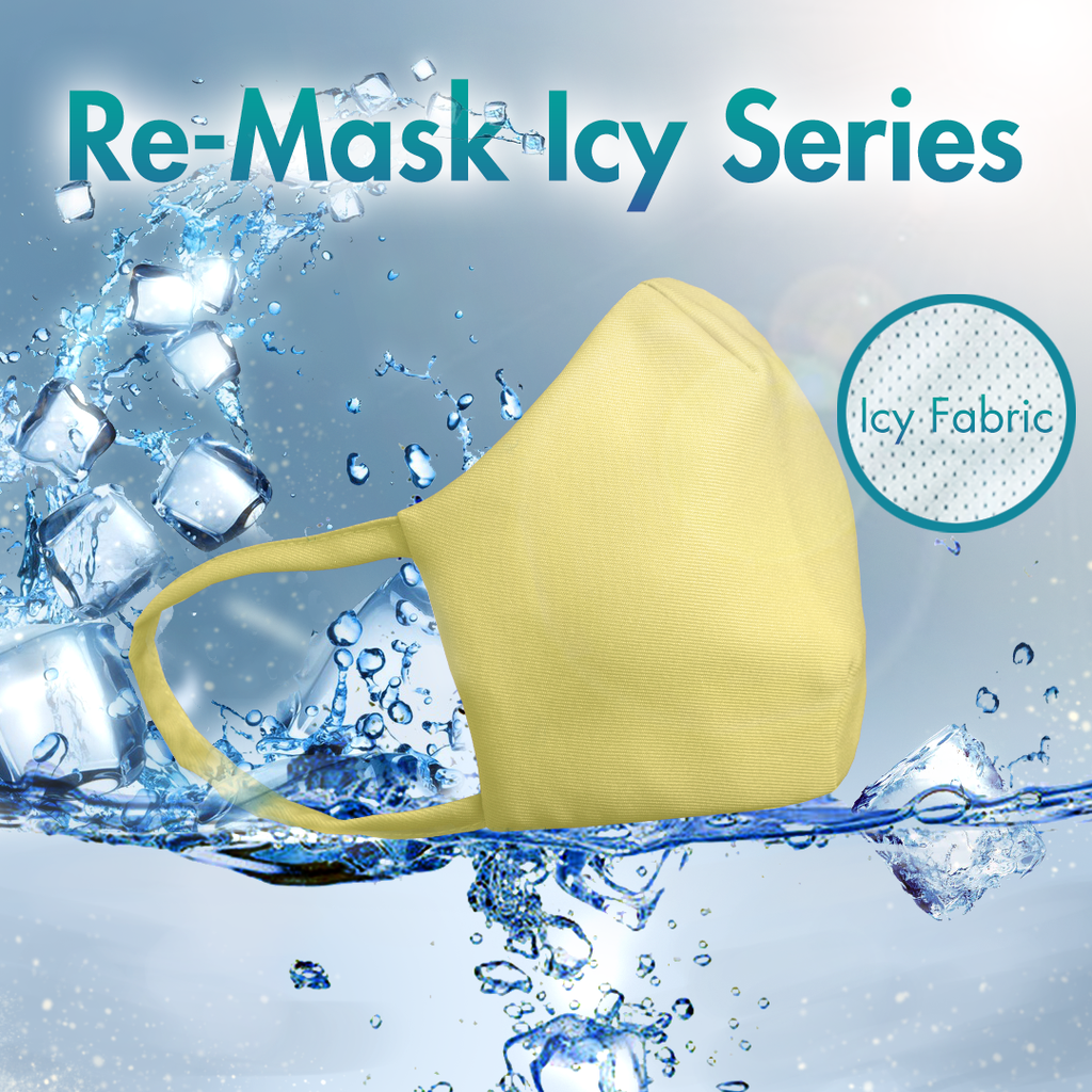 Re-Mask VFE 99.9 Technical Mask | ICY Yellow