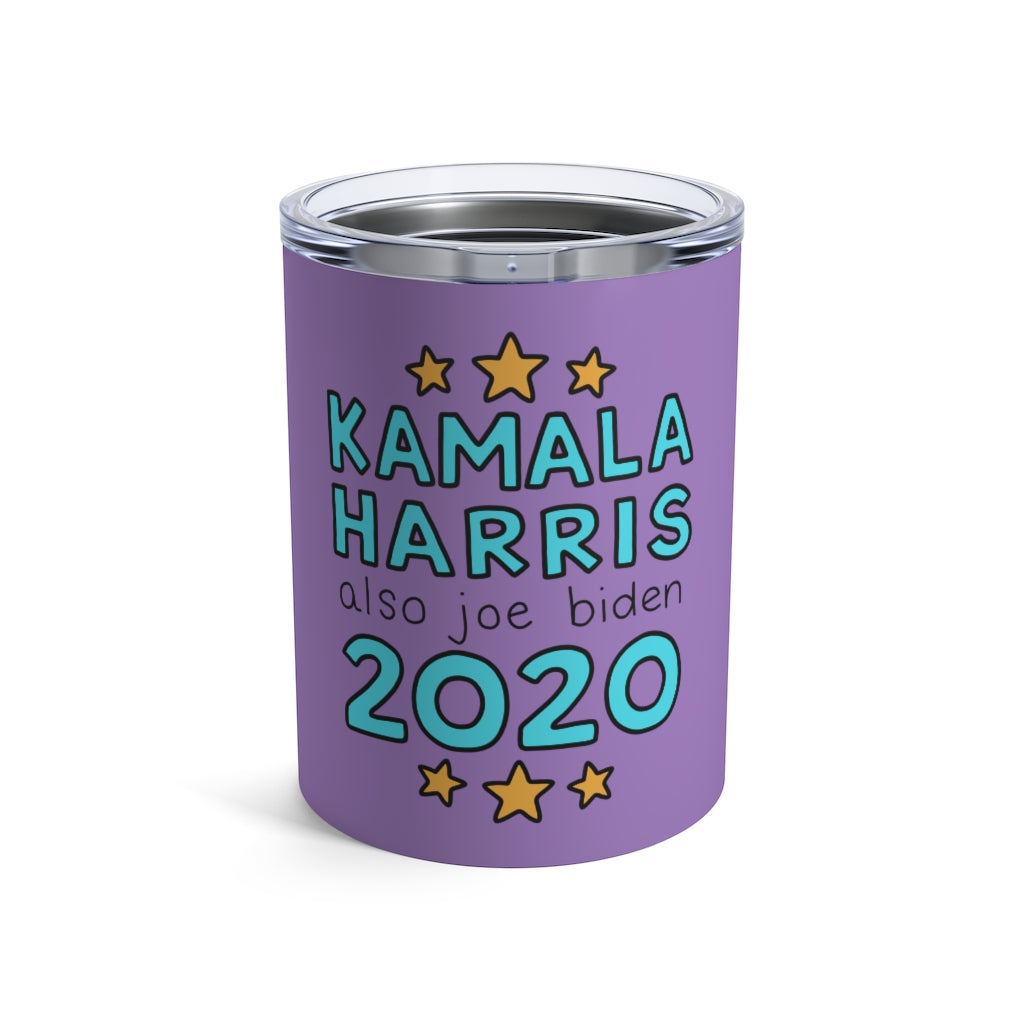 Kamala Harris and Also Joe Biden 2020 10 oz Metal Thermos