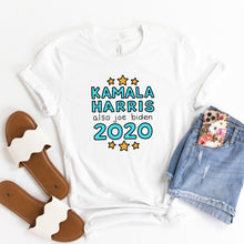Load image into Gallery viewer, Kamala Harris and Also Joe Biden 2020 Unisex T-Shirt - feminist doodles