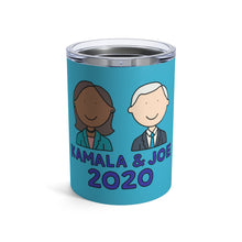 Load image into Gallery viewer, Kamala Harris & Joe Biden 2020 10 oz Metal Thermos