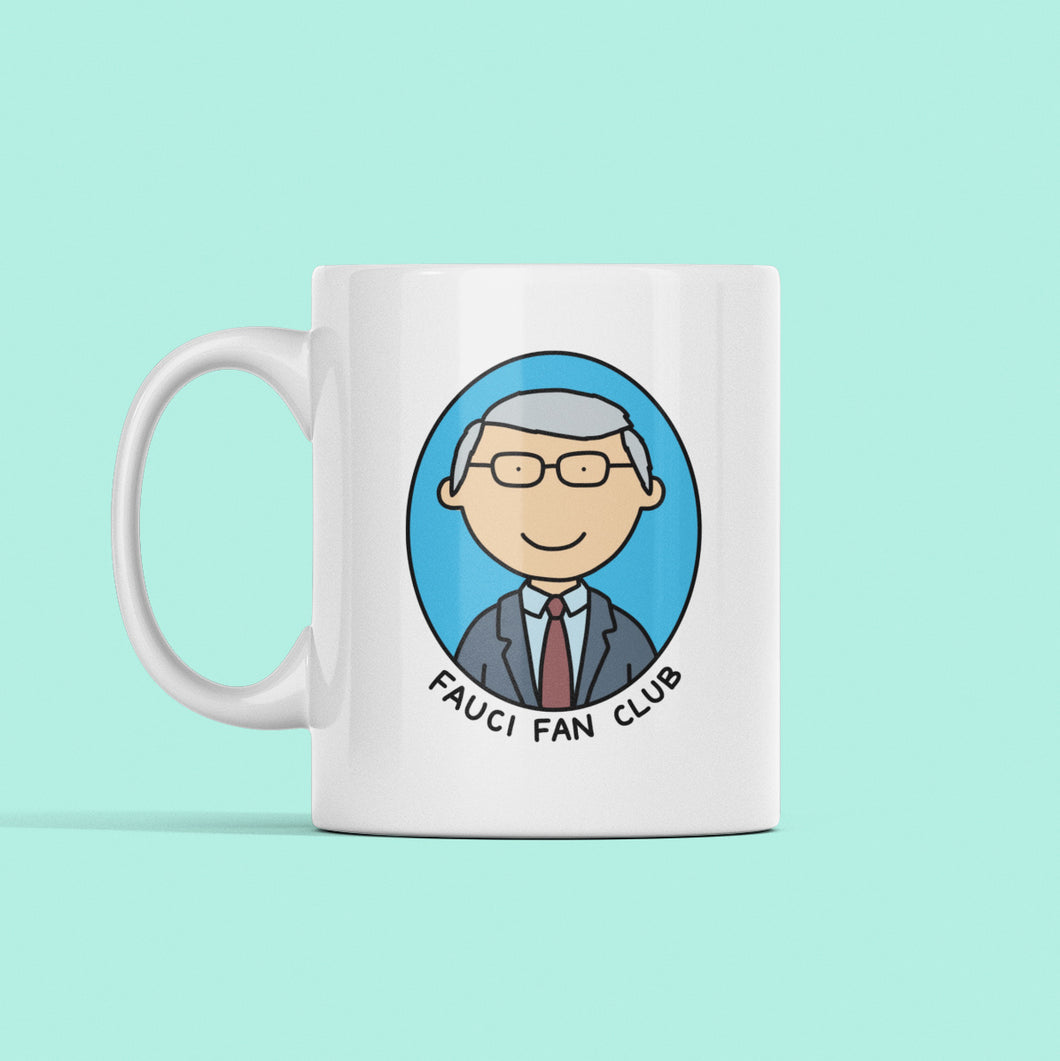 Dr. Fauci Fan Club Mug