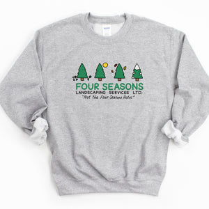 Four Seasons Landscaping Adult Sweatshirt