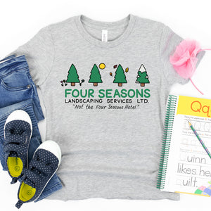 Four Seasons Landscaping Kids' T-Shirt