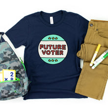Load image into Gallery viewer, Future Voter Kids' T-Shirt - feminist doodles