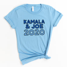 Load image into Gallery viewer, Kamala & Joe 2020 Unisex T-Shirt - feminist doodles