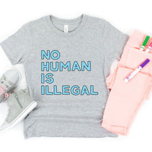 Load image into Gallery viewer, No Human is Illegal Kids' T-Shirt
