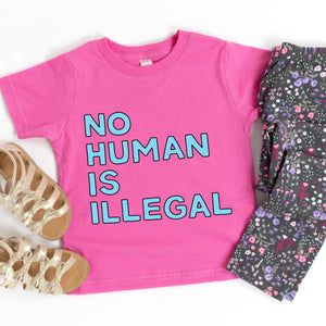 No Human is Illegal Kids' T-Shirt