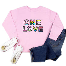 Load image into Gallery viewer, One Love Youth & Toddler Sweatshirt (Hoodie or Crewneck)