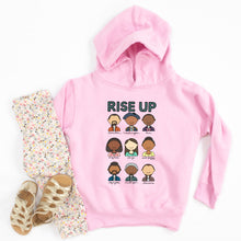 Load image into Gallery viewer, Hamilton Rise Up Youth & Toddler Sweatshirt (Hoodie or Crewneck)