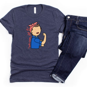 Rosie the Riveter Adult T-Shirt