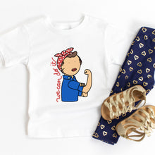 Load image into Gallery viewer, Rosie the Riveter Kids' T-Shirt