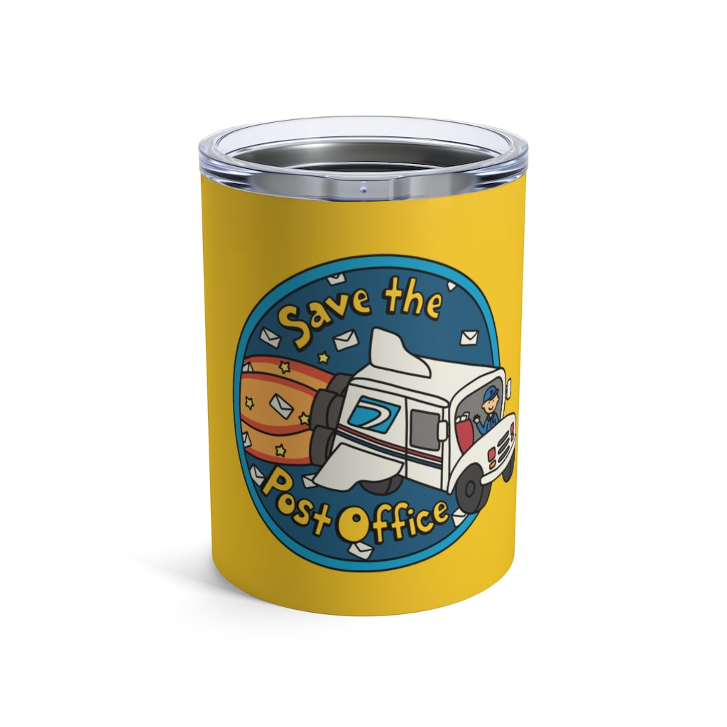 Save the Post Office 10 oz Metal Thermos