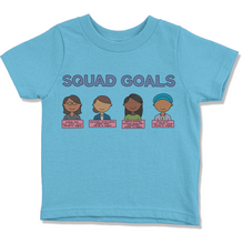 Load image into Gallery viewer, Squad Goals Kids' T-Shirt