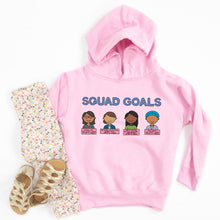 Load image into Gallery viewer, Squad Goals Youth & Toddler Sweatshirt (Hoodie or Crewneck)