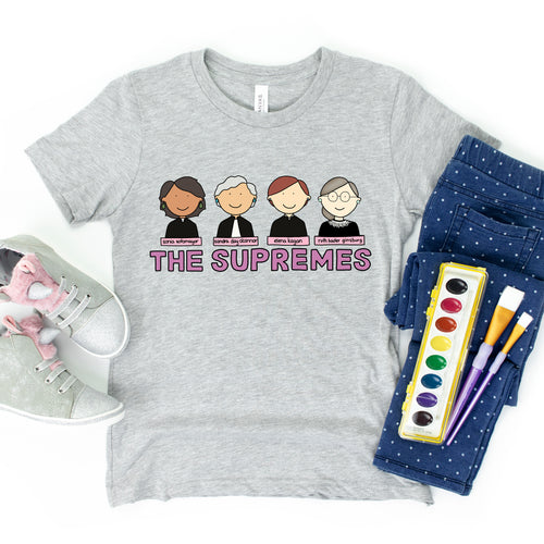 The Supremes Kids' T-Shirt - feminist doodles
