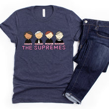 Load image into Gallery viewer, The Supremes Women of the Supreme Court Adult T-Shirt - feminist doodles