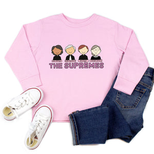 The Supremes Youth & Toddler Sweatshirt (Hoodie or Crewneck) - feminist doodles