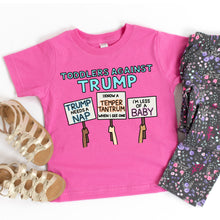 Load image into Gallery viewer, Toddlers Against Trump Infant or Toddler T-Shirt or Bodysuit
