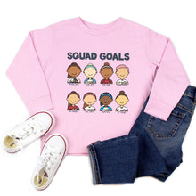 Load image into Gallery viewer, USWNT Squad Goals Youth & Toddler Sweatshirt (Hoodie or Crewneck)
