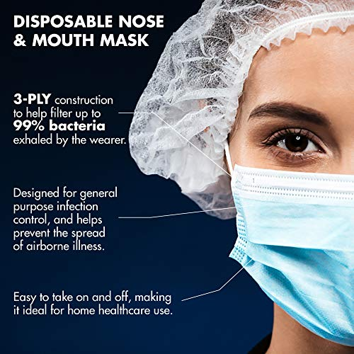 10 pcs * Disposable Medical Surgical Masks Hospital Grade 3 Ply Earloop