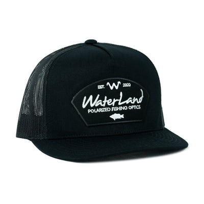 Blackout Flat Bill SnapBack - Black