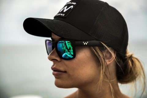Shady Wave SnapBack - Black
