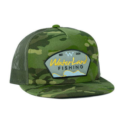 Golden Days Flat Bill SnapBack - MC Tropical