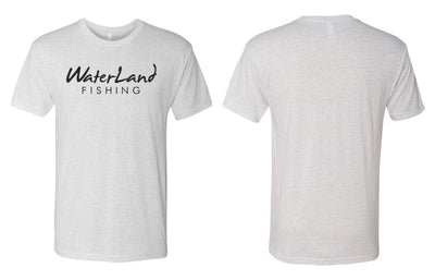 WaterLand Classic Tee - Heather White
