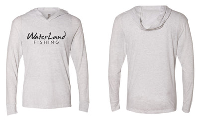 WaterLand Classic Hooded SunShirt - Heather White