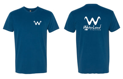 WaterLand Life Tee - Cool Blue