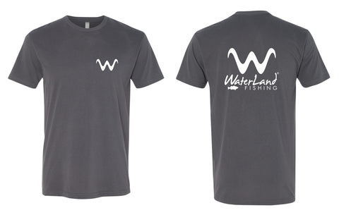 WaterLand 'Angler' Premium Tee - Heavy Metal
