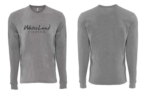 WaterLand Classic L/S Tee - Heather Gray